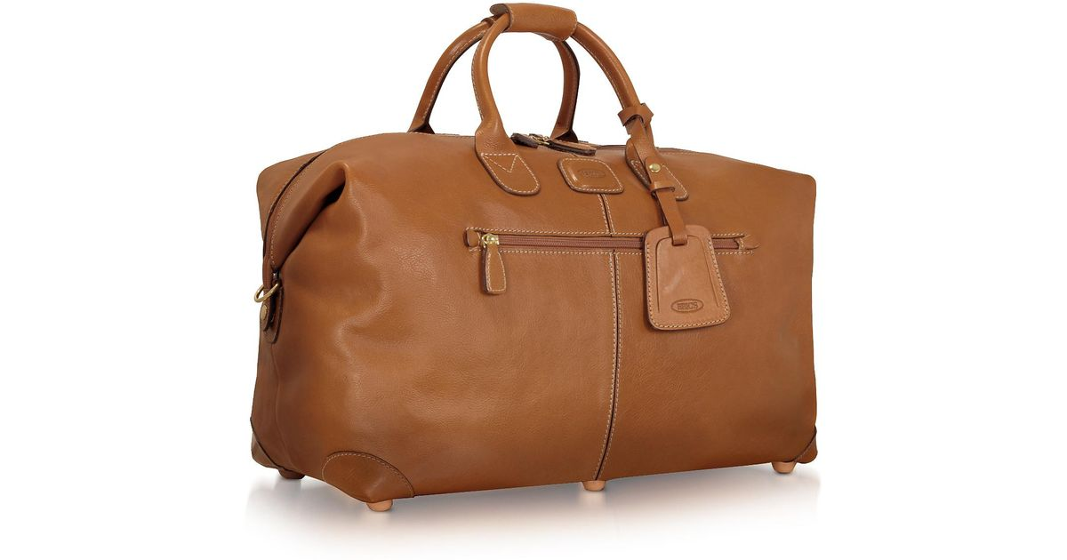 Brics Life Pelle Travel Bag