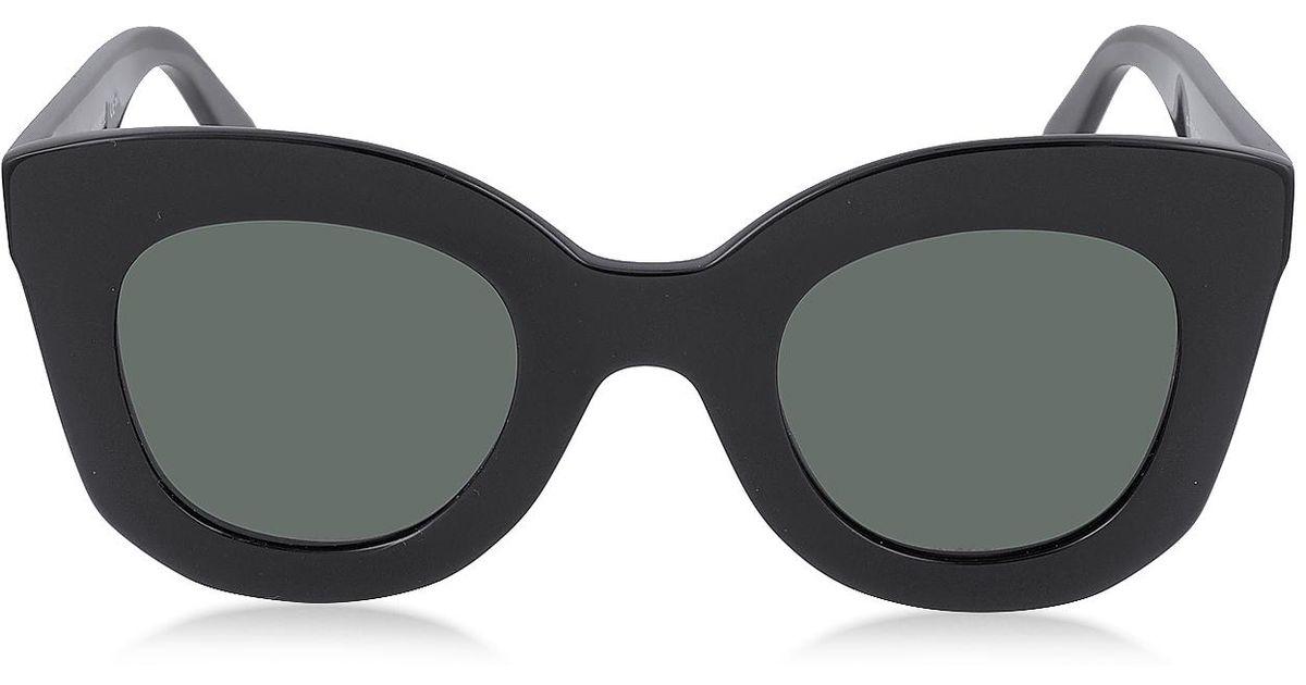 e8fc984e0ba Lyst - Céline Marta Cl 41093 s Acetate Cat Eye Women s Sunglasses in Black
