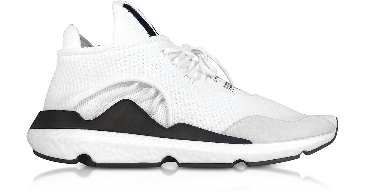 68ee9f485f674 Lyst - Y-3 Core White Saikou Sneakers in White for Men
