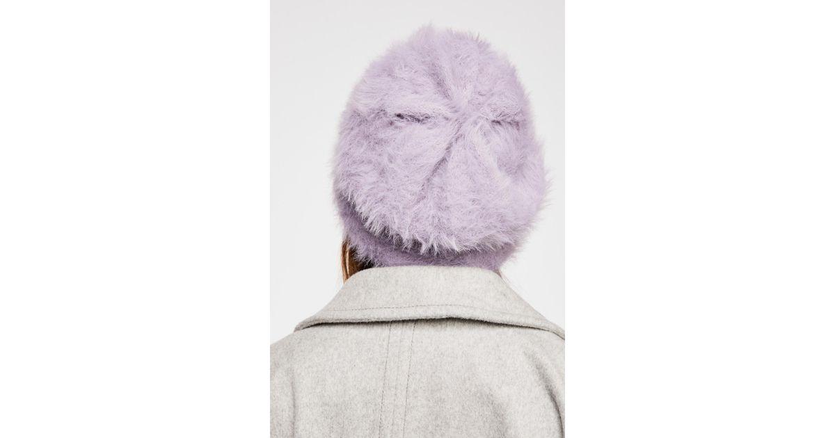Lyst - Free People Fp One Big Sky Slouchy Beanie in Purple ab509c930d1