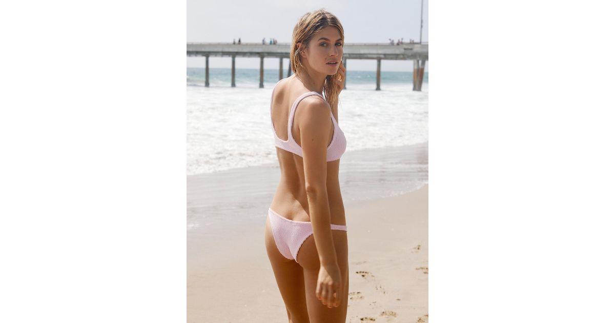 a6f4bde165 Lyst - Free People Brazil Scrunch Bikini Bottom