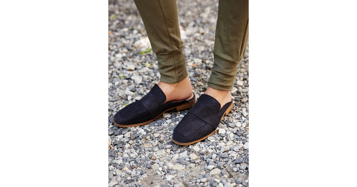 7a87a0ced95 Lyst - Free People At Ease Loafer