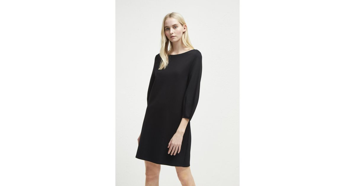 e1d12b96109 Lyst - French Connection Luella Ponte Jersey Tunic Dress in Black