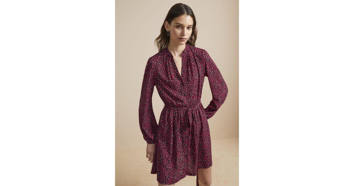df4b4f803c2f French Connection Aubine Fluid Floral Shirt Dress - Lyst