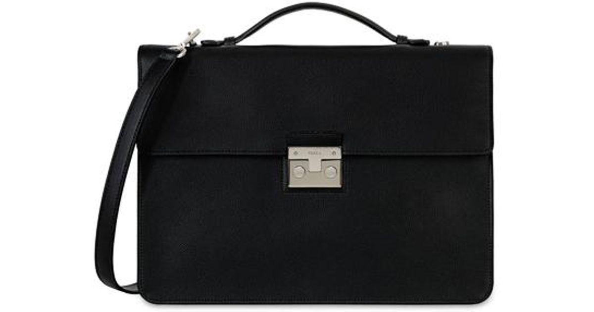 Man Atlante Briefcase M Blu D Furla 5GgeRBGfRh