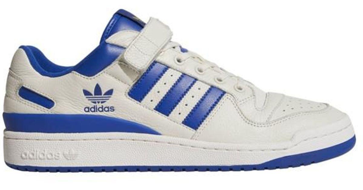 low cost 8a584 67eae Lyst - Baskets basses Forum adidas Originals pour homme en coloris Blanc