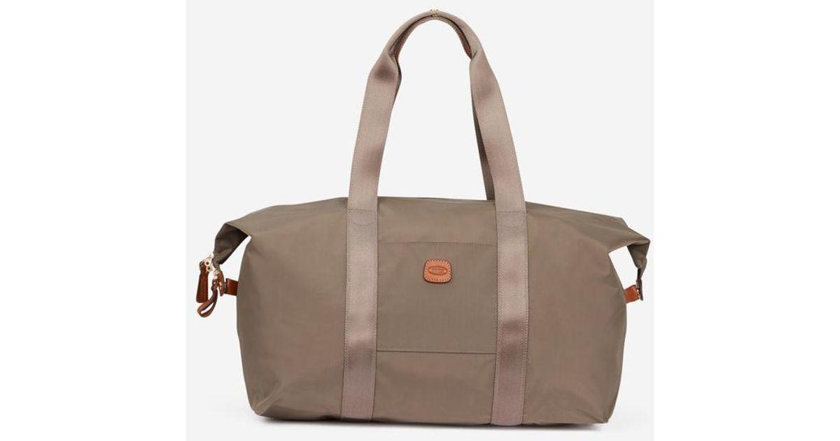 Voyage Pliable Bric's Cabas Lyst Bag Coloris Sac De En Marron X WH2eEID9Y