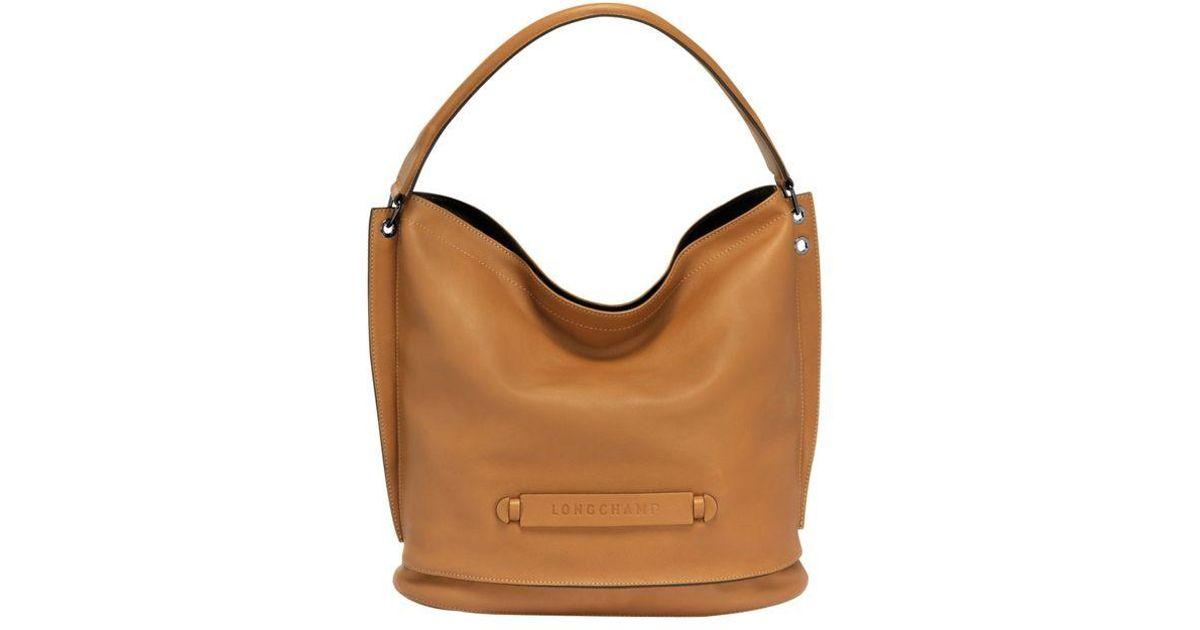 En Brown Longchamp 3d Besace Coloris 4ALjc3R5q