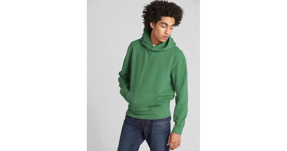 b0e119e0 Gap Vintage Soft Pullover Hoodie in Green for Men - Lyst