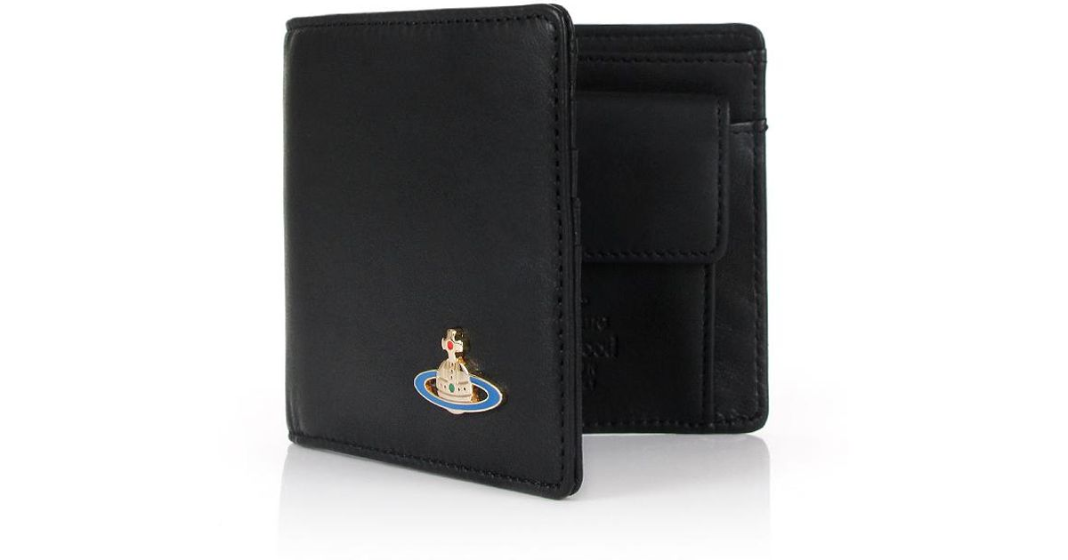 b85418e7be1 Vivienne Westwood Nappa 51010009 Wallet With Coin Pocket Black in Black for  Men - Lyst