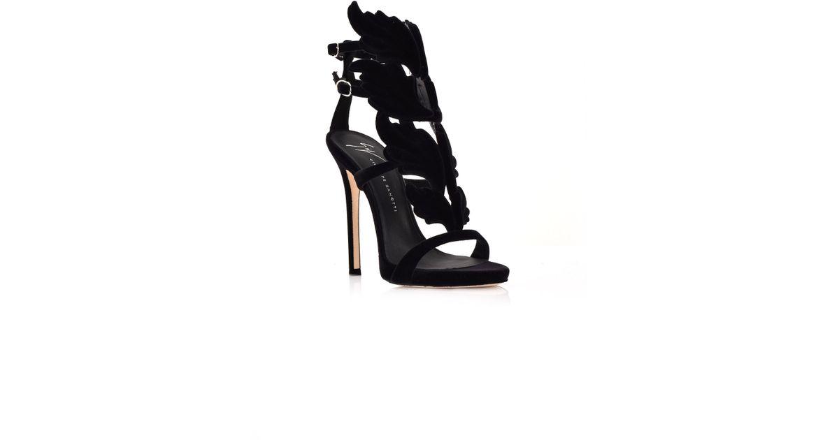 c6afc07d063 Lyst - Giuseppe Zanotti Cruel High Heel Sandals Black in Black