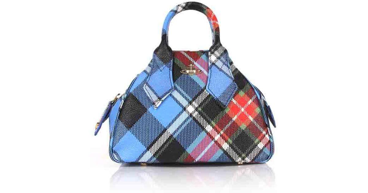 0190b809d8 Vivienne Westwood Derby 42010014 Small Yasmine Handbag George in Blue - Lyst