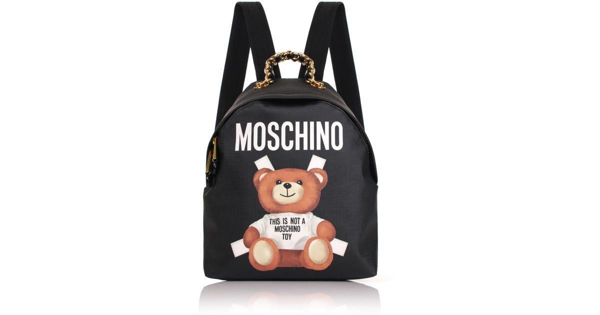 Moschino teddy mini backpack k4CTWjqZf