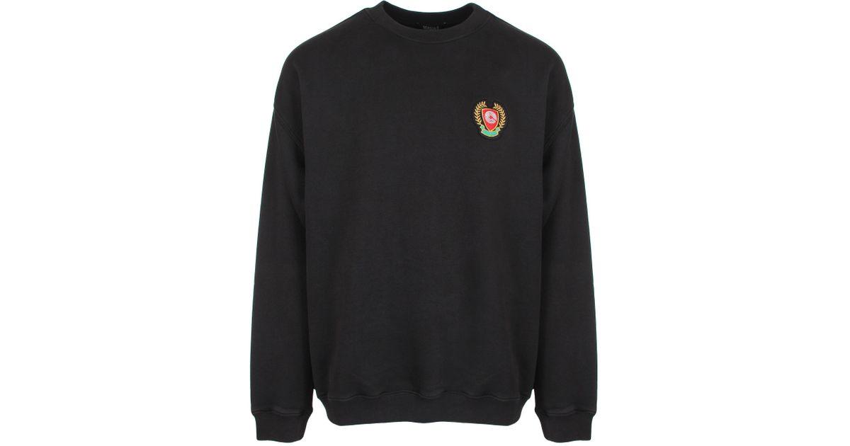aa04635c0 Lyst - Yeezy Season 5 Calabasas Crew Neck Sweatshirt Ink in Black