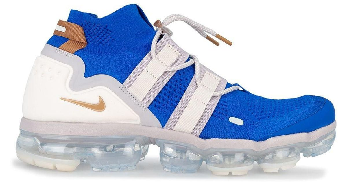 bf27f66d9d1c Nike Air Vapormax Flyknit Utility Trainers in Blue for Men - Save 46% - Lyst