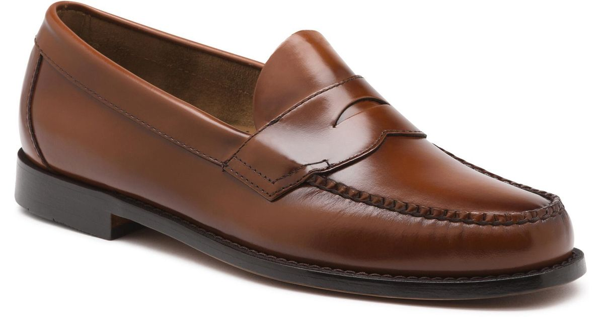 1766f049973 Lyst - G.H.BASS Logan Flat Strap Weejuns in Brown for Men