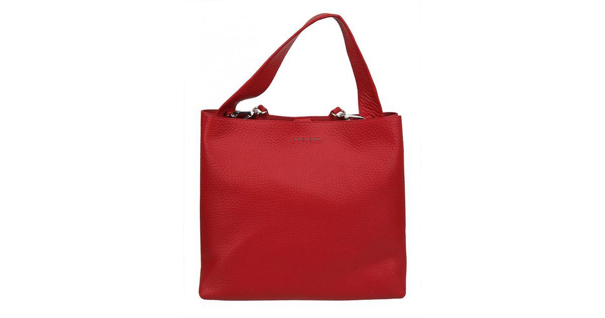 rivenditore di vendita 1a215 bb9cf Orciani - Red ORCIANI BORSA TRACOLLA ROSSA - Lyst