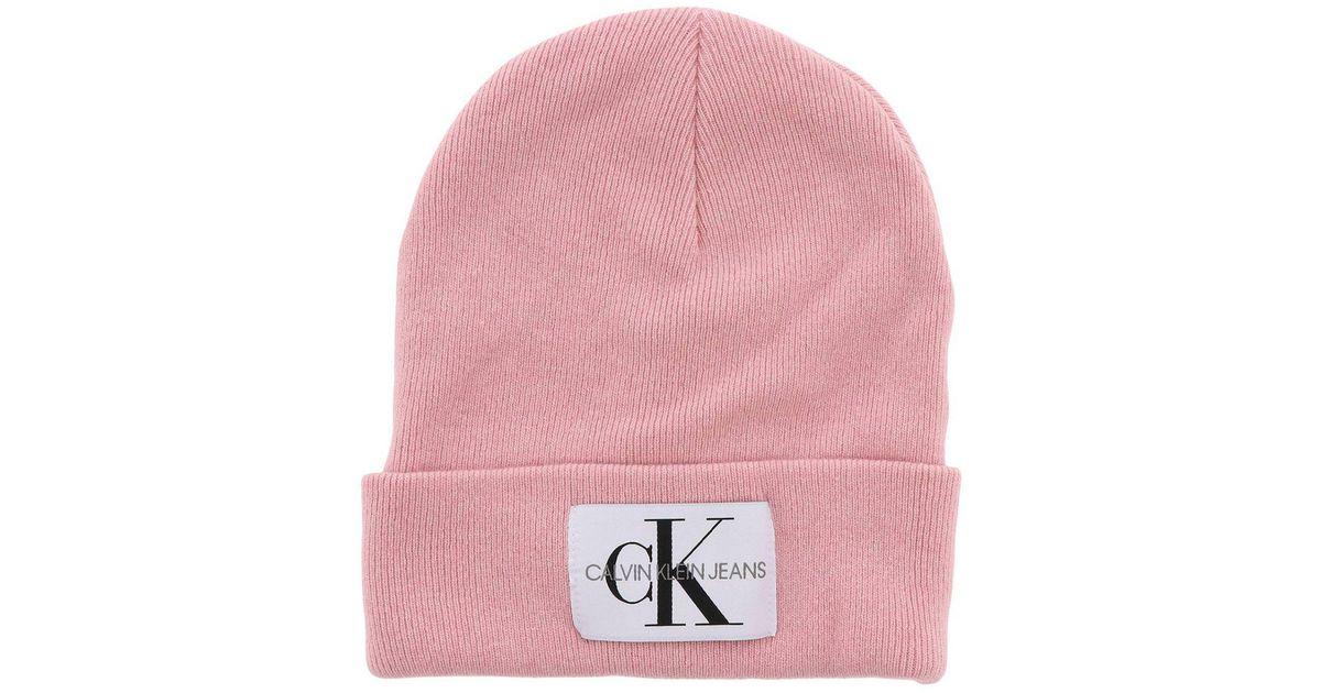 Lyst - Calvin Klein Hat Women in Pink f315fa5b59