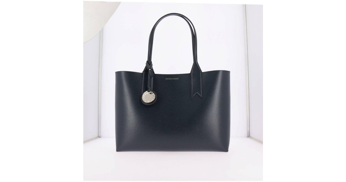 Emporio Armani Handbag Shoulder Bag Women in Blue - Lyst d97237048e459
