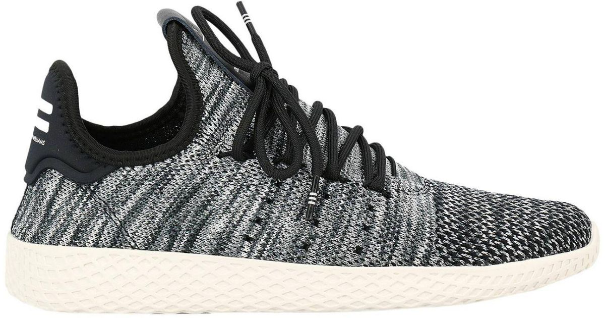 b202c2320 Lyst - adidas Originals Adidas Pharrell Williams Pw Tennis Sneakers Hu Pk  in Black for Men