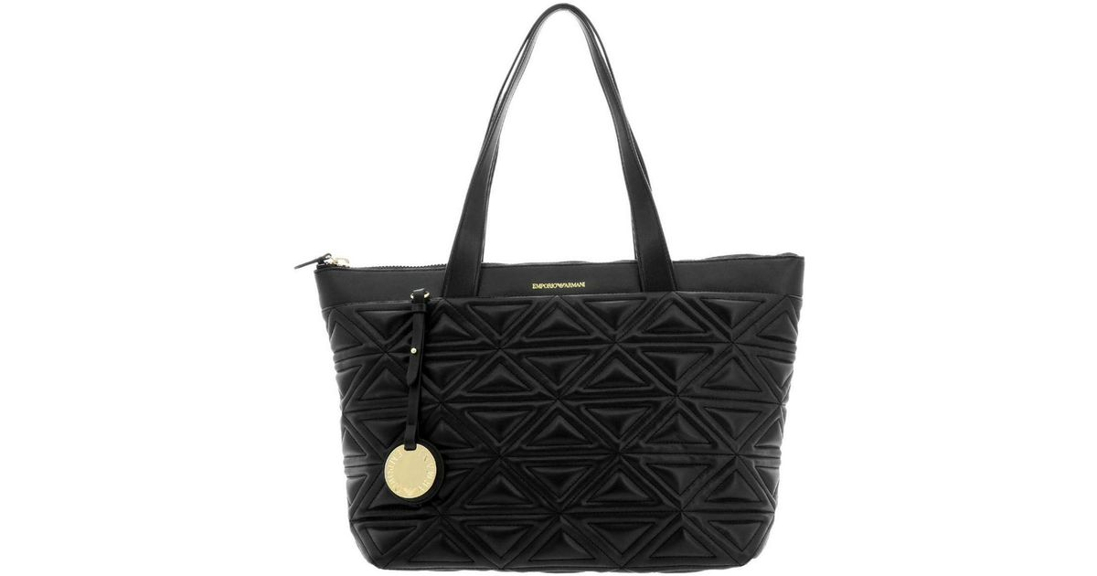1971bc861735 Lyst - Emporio Armani Shoulder Bag Women in Black