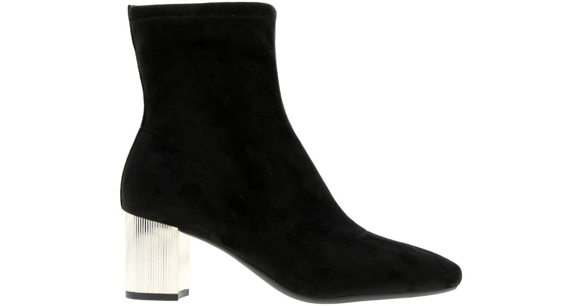 b11588e3387a7 Lyst - MICHAEL Michael Kors Heeled Booties Shoes Women in Black