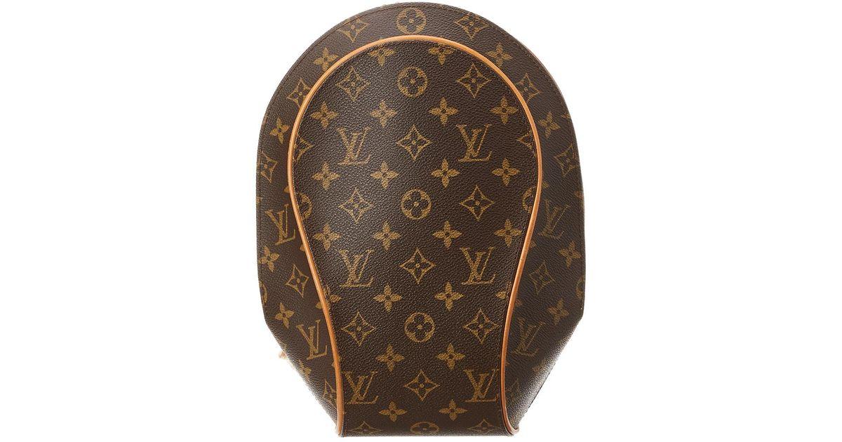 523906799535 Lyst - Louis Vuitton Monogram Canvas Ellipse Sac A Dos in Brown