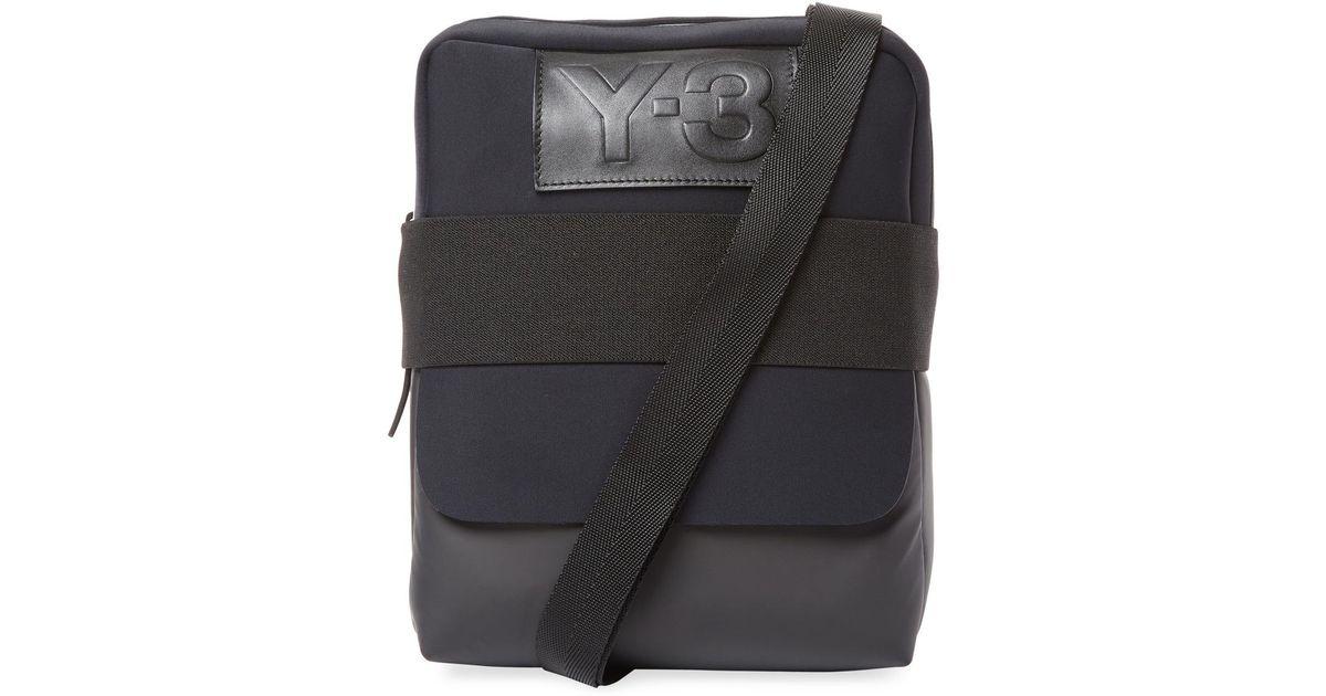 43c7e14c33 Lyst - Y-3 Qasa Report Messenger Bag in Black for Men