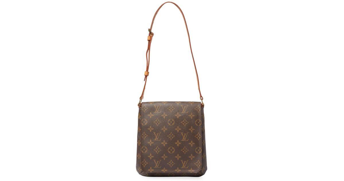 51b459395600e Louis Vuitton Vintage Monogram Ab Musette Salsa Crossbody Bag in Brown -  Lyst