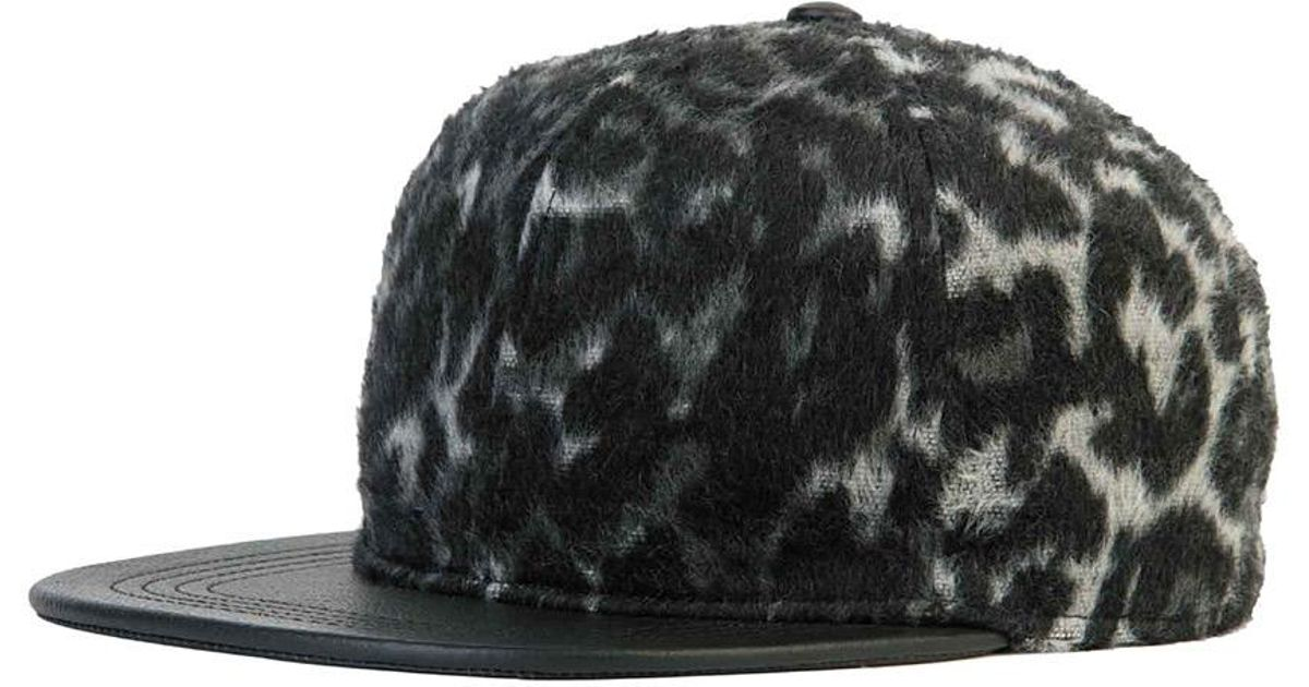 756b9c5fa5e Lyst - Genie By Eugenia Kim Corey Leather Brim Baseball Hat in Black for Men
