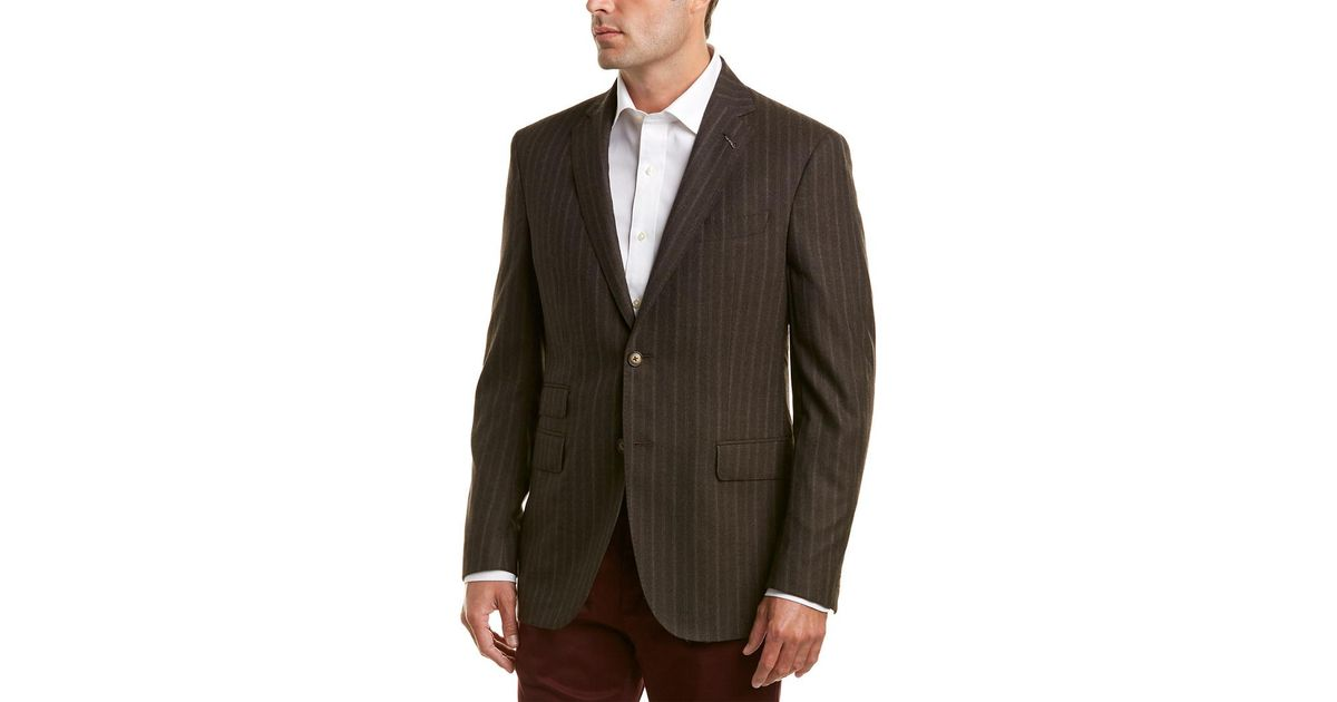 c5b893efe44 Lyst - Michael Bastian Wool Sportcoat in Brown for Men