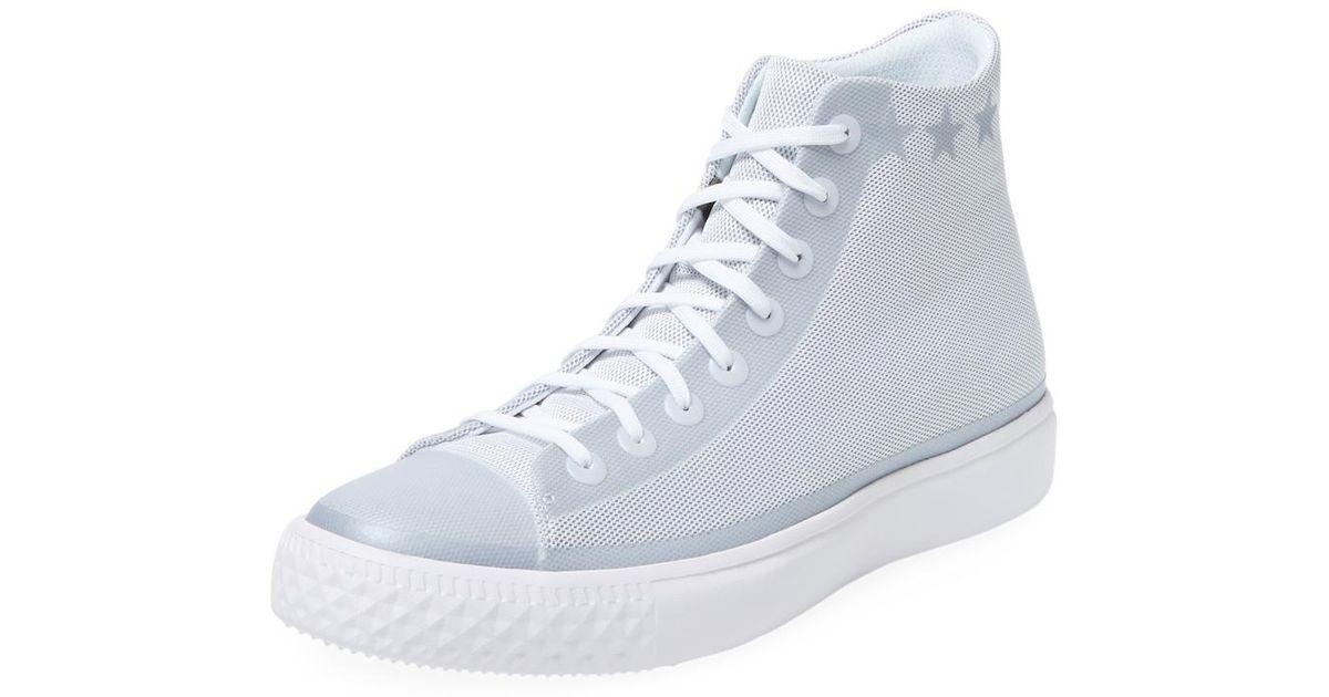 6990986b903d0d Lyst - Converse Chuck Taylor Modern High Top Sneaker in White for Men
