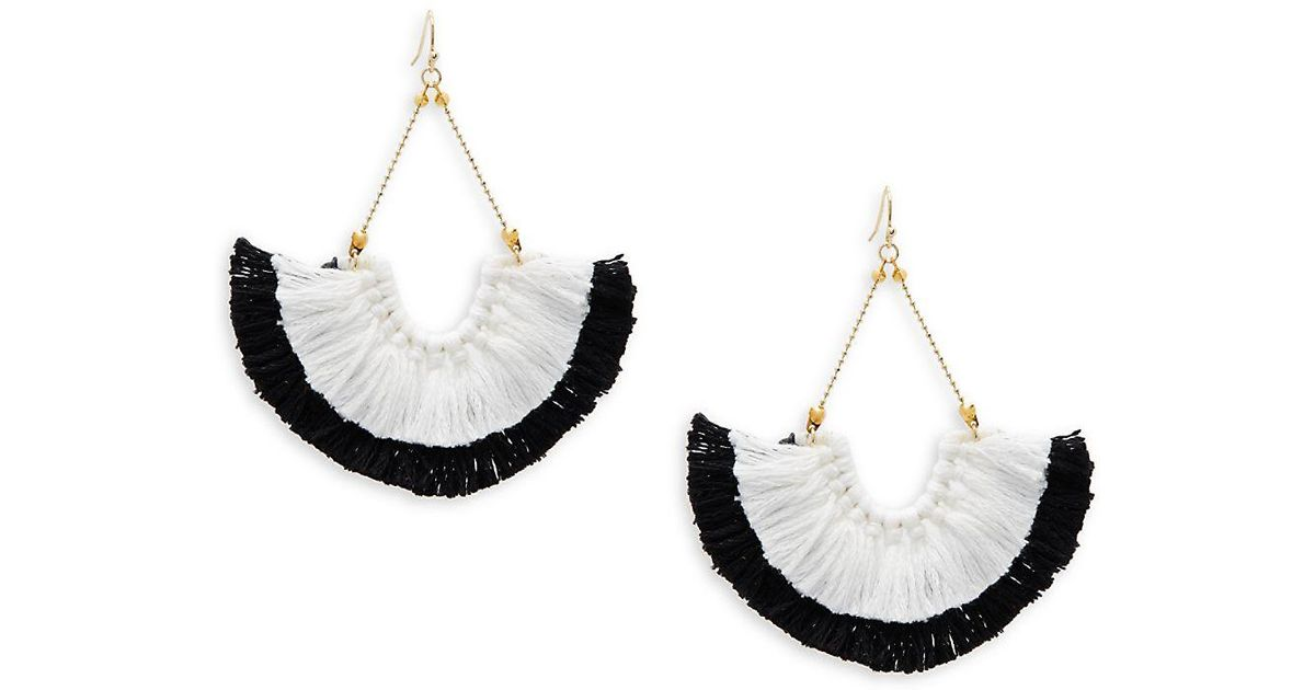 Panacea Stone Fan Drop Earrings 5FxplUzQo