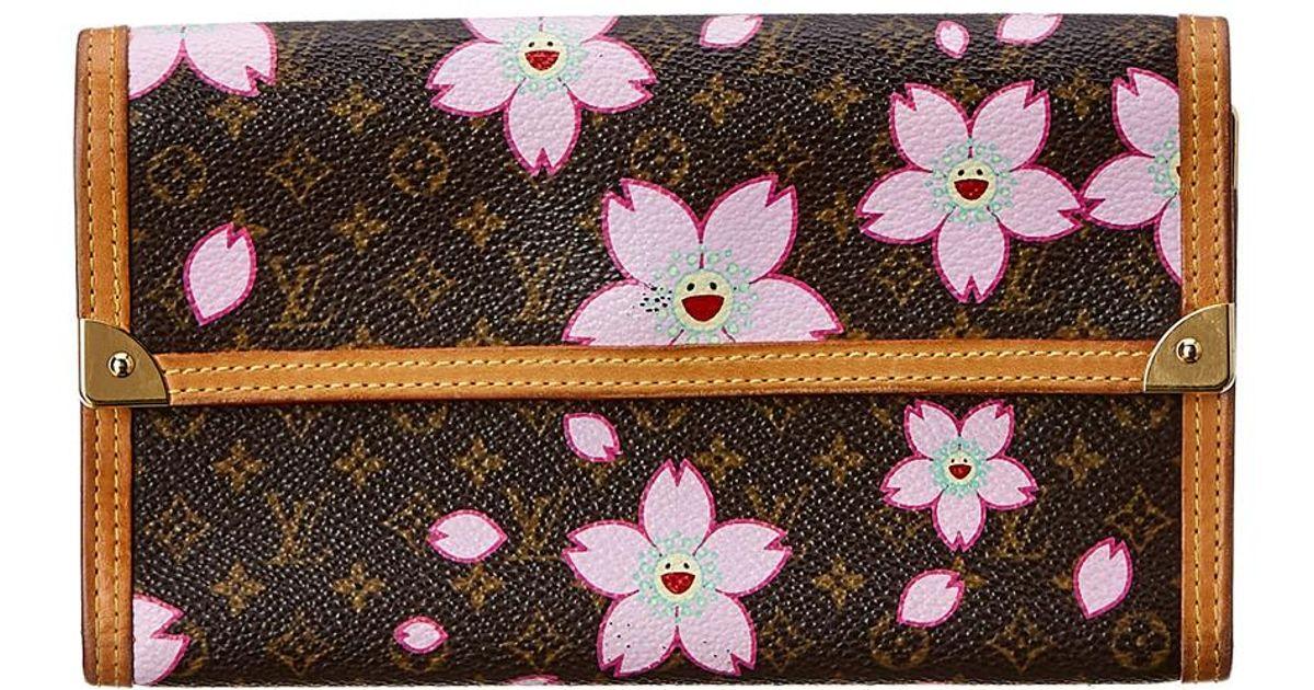 2952b111cc Louis Vuitton Limited Edition Takashi Murakami Cherry Blossom. Louis Vuitton  Limited Edition Monogram Cherry Blossom Papillon Bag