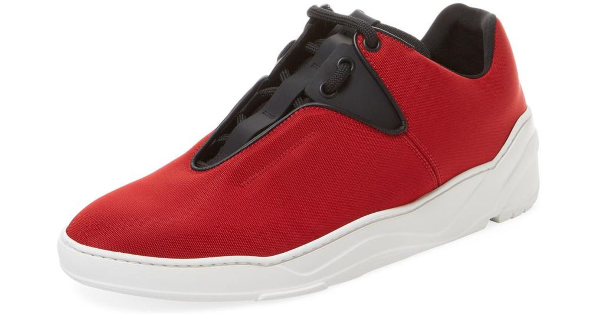 TEXTURED - Sneaker low - red 26LbNtc