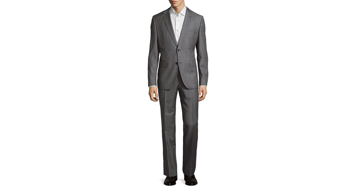 fd6786452 Lyst - BOSS Jewel Linus Wool Suit in Gray for Men