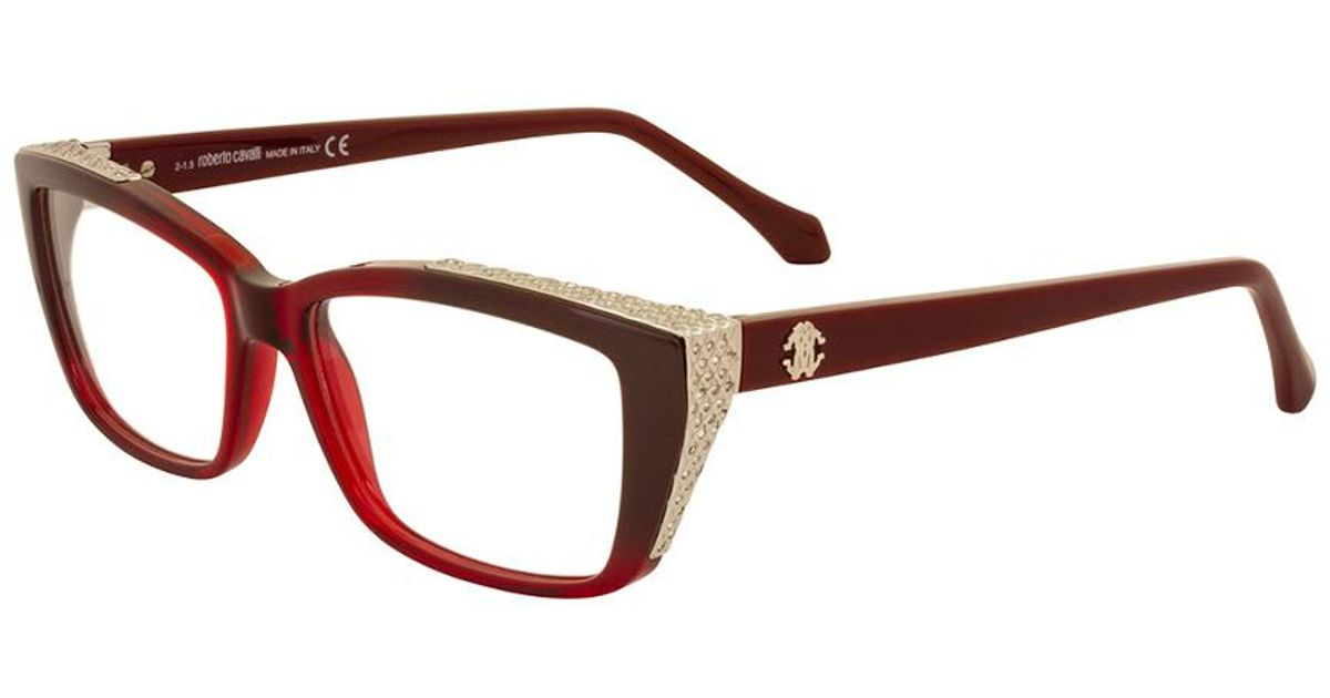 Lyst - Roberto Cavalli Women\'s Rc0948 54mm Optical Frames in Brown