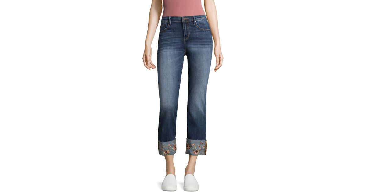 1d9b54547e6 Driftwood Jeans Colette Cropped Jeans in Blue - Lyst