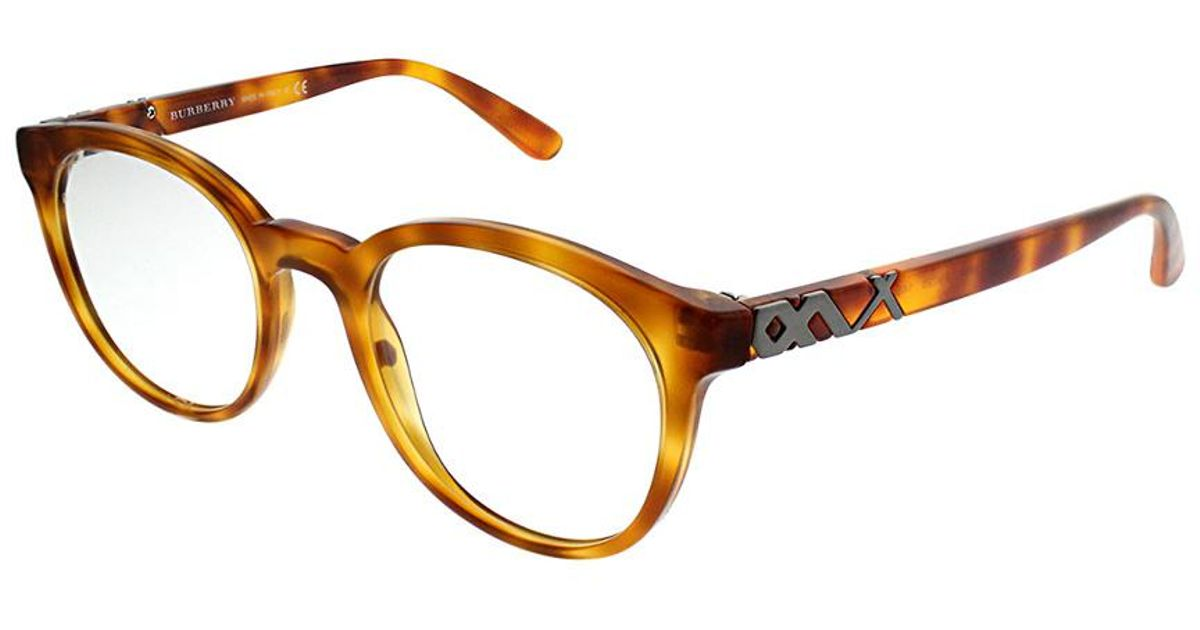 Lyst - Burberry Men\'s Be2250 51mm Optical Frames in Brown