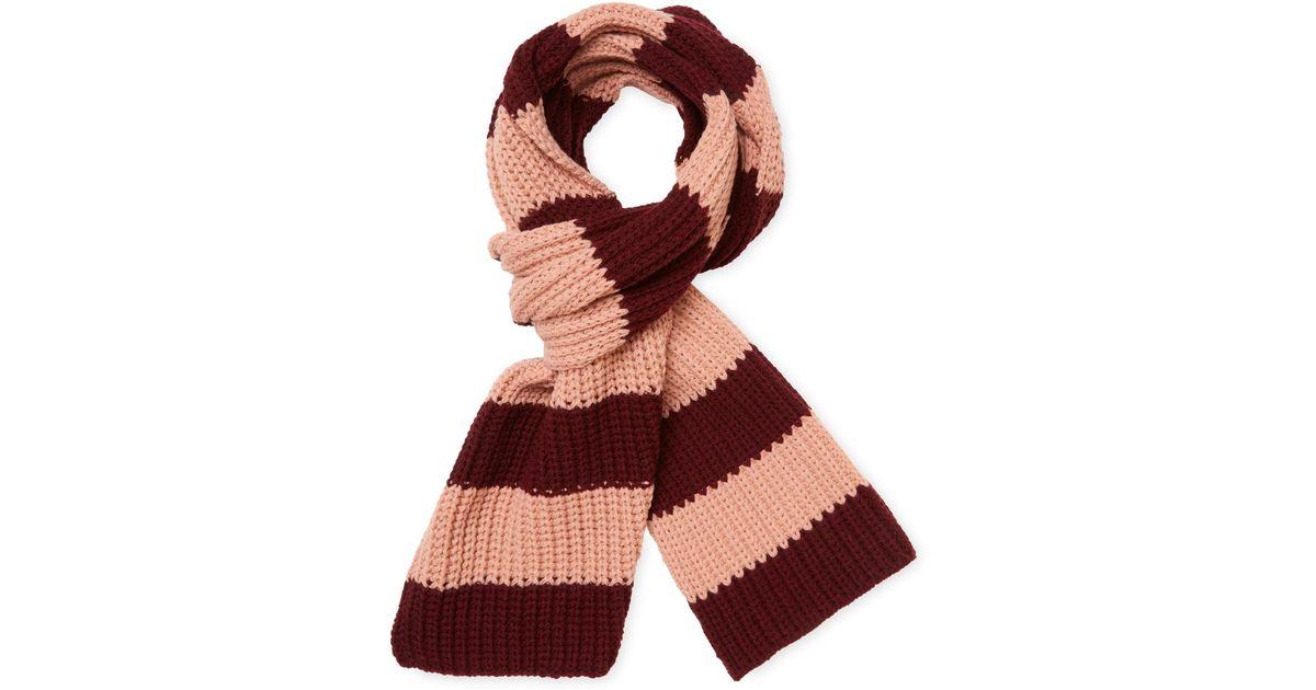 Red Valentino tiger striped scarf Cheap Sale New TxwsWc