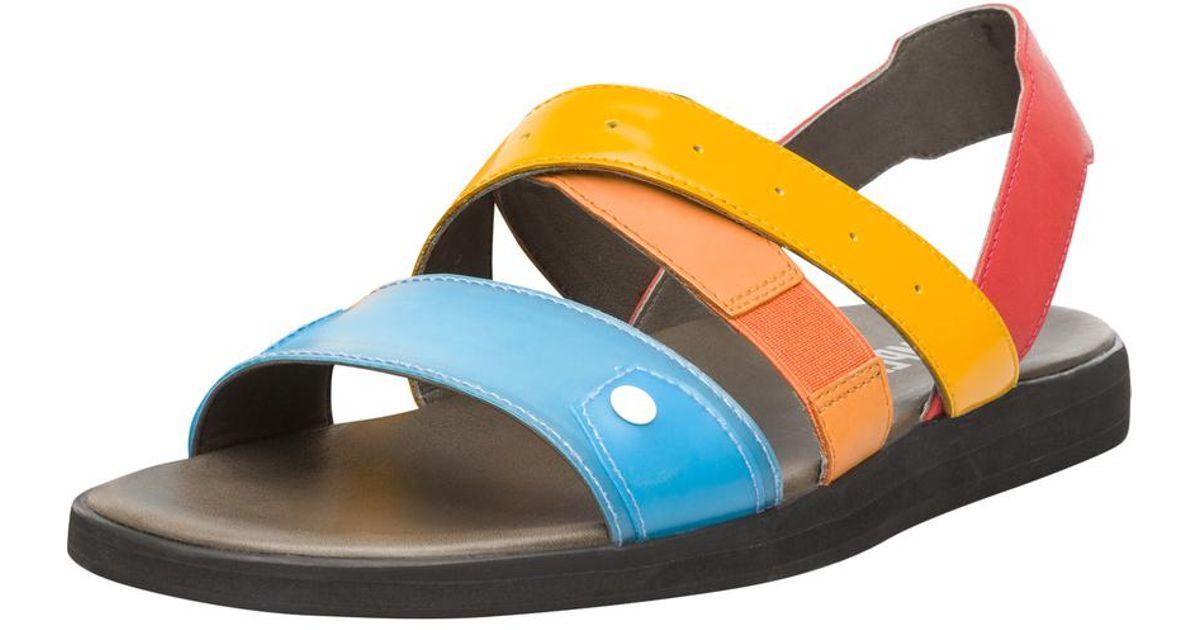 Spray Straps Multicolored Lyst Camper Sandal fvgIbY7y6m