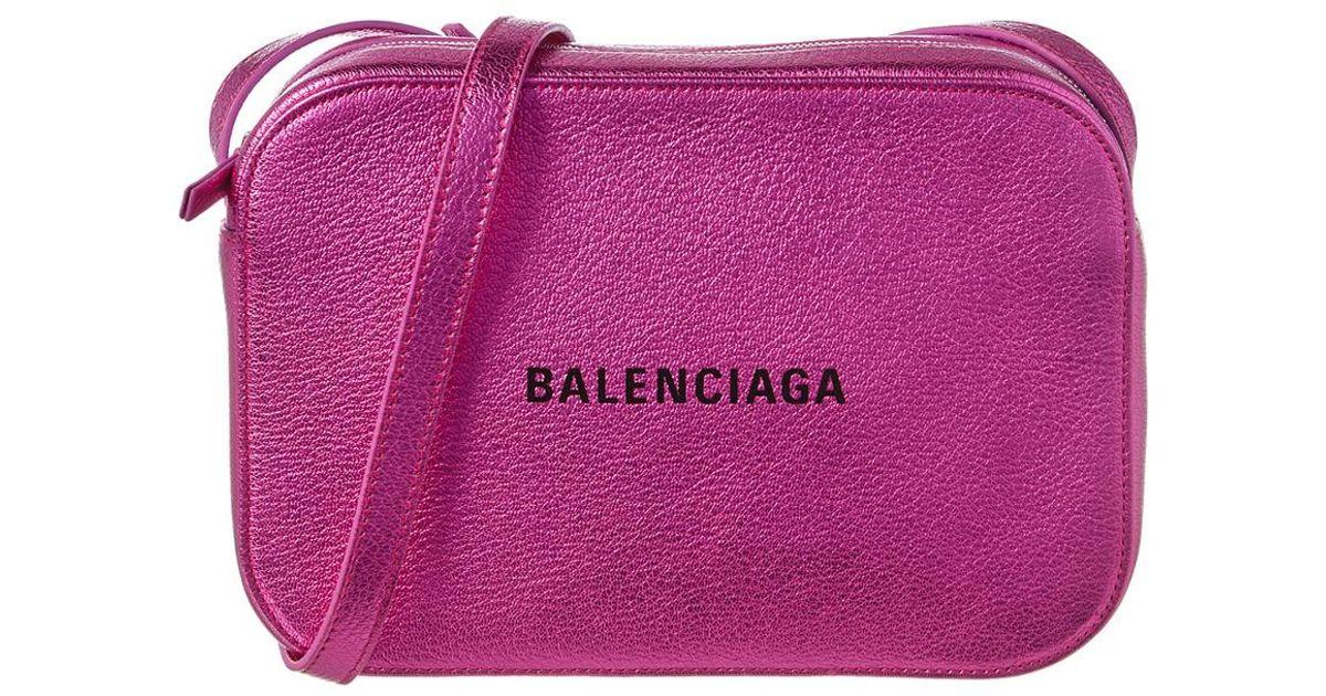 Balenciaga Women Handbag Ville Day Xs Leather Logo Black