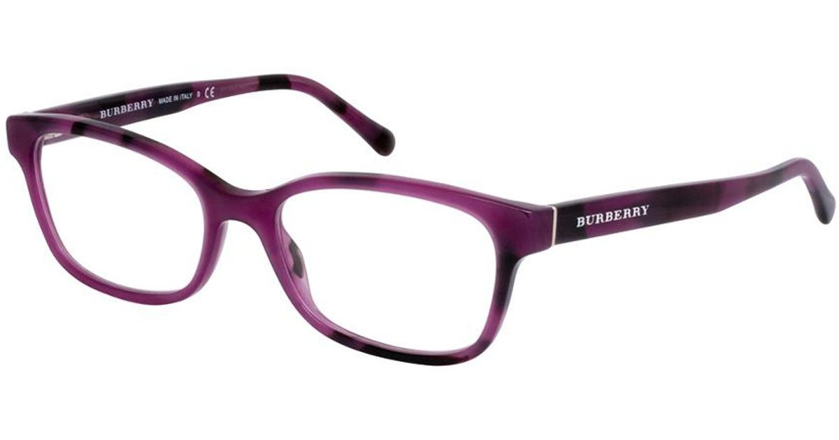 f4bd43920e Lyst - Burberry Be2201 52mm Optical Frames