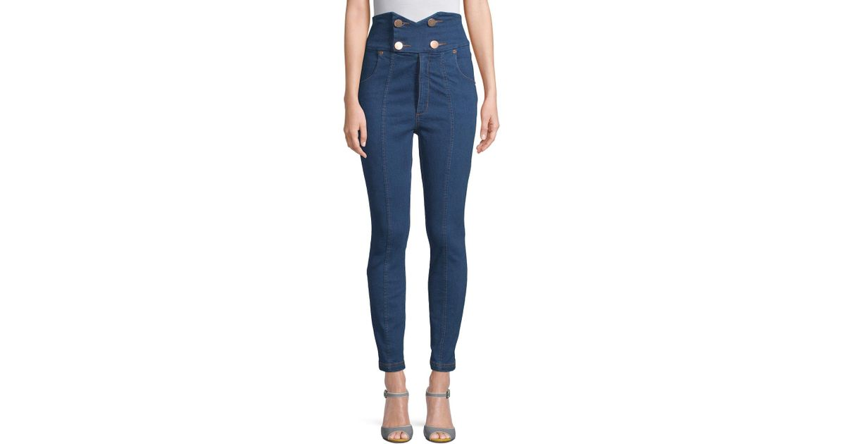 122fd20d1f Lyst - Alice McCALL Shut The Front J adore Jeans in Blue