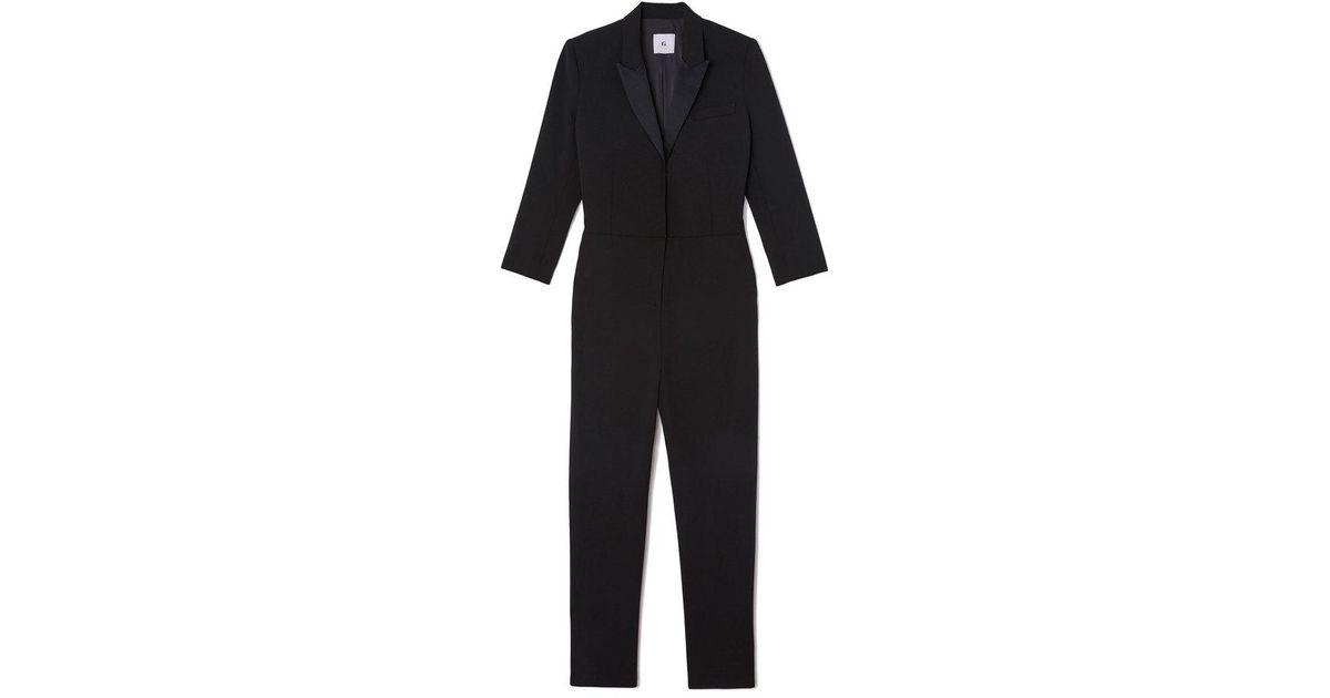 41795482f41 G. Label By Goop Elgin Tuxedo Jumpsuit in Black - Lyst