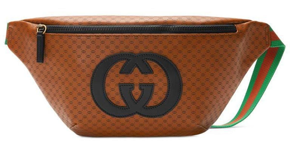 f13cbe6e10bc30 Gucci -dapper Dan Belt Bag in Brown for Men - Lyst