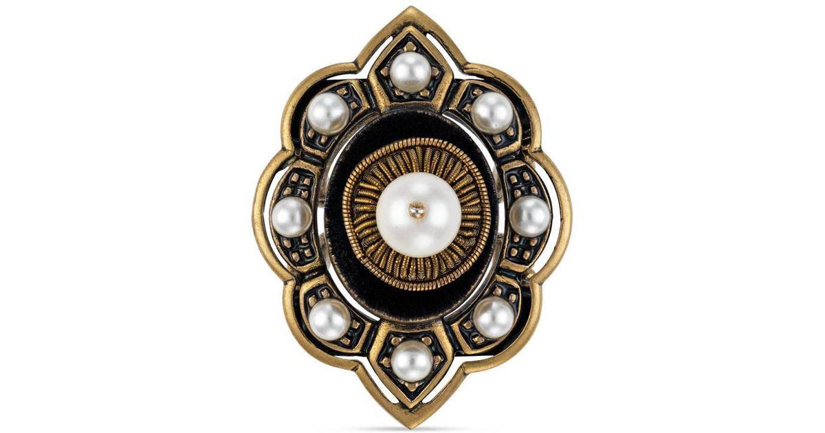 Gucci Pin cushion motif ring in metal uPrLyBzA5S