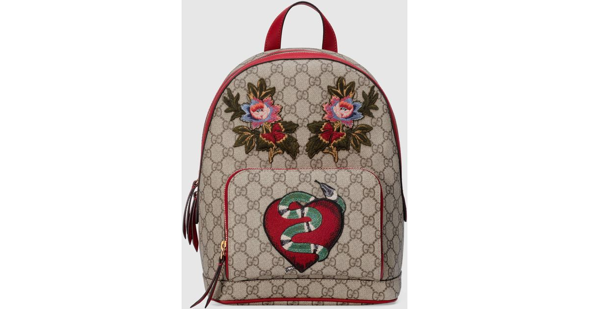 59bf8a20521a Lyst - Gucci Limited Edition Gg Supreme Backpack