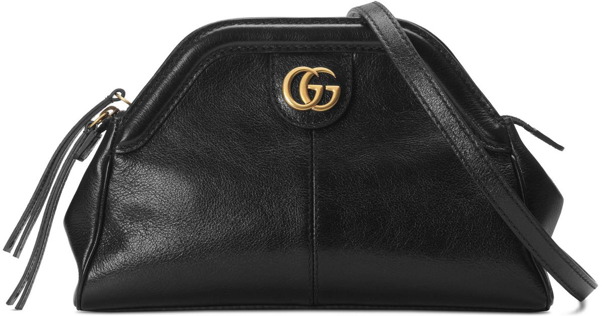 San Francisco 19891 88050 Gucci Re(belle) Small Shoulder Bag in Black - Lyst