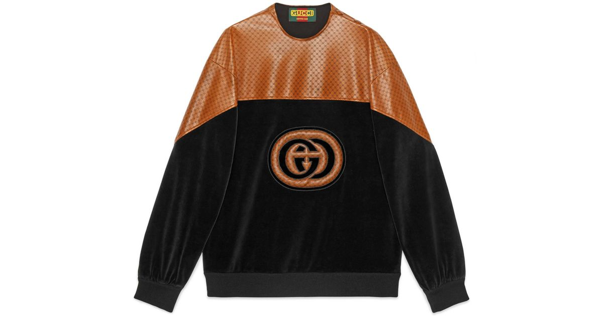 cc46cde206e Gucci -dapper Dan Sweatshirt in Black for Men - Lyst